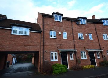 Thumbnail 3 bed town house for sale in Feldon Way, Stratford-Upon-Avon