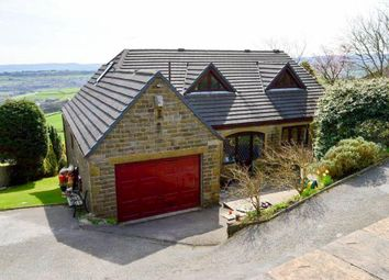 Thumbnail 6 bed detached house for sale in Slaithwaite Gate, Scapegoat Hill, Golcar, Huddersfield