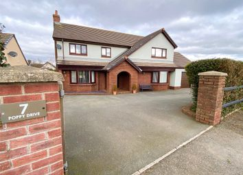 Thumbnail 5 bed detached house for sale in Poppy Drive, Neyland, Milford Haven
