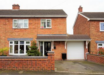 Thumbnail 3 bed semi-detached house for sale in Mease Close, Measham, Swadlincote