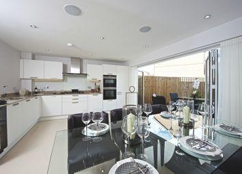 Thumbnail 4 bedroom town house for sale in Eden Road, Dunton Green, Sevenoaks