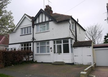 Thumbnail 3 bed semi-detached house for sale in Hill Road, Southend-On-Sea