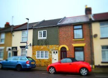 Thumbnail 2 bed terraced house to rent in Napier Road, Southsea