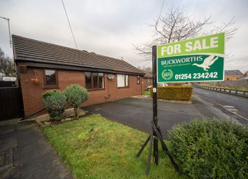 Thumbnail 1 bed semi-detached bungalow for sale in Alleytroyds, Church, Accrington