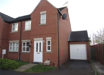 Thumbnail 3 bed semi-detached house for sale in Lawrence Avenue, Mansfield Woodhouse, Nottinghamshire