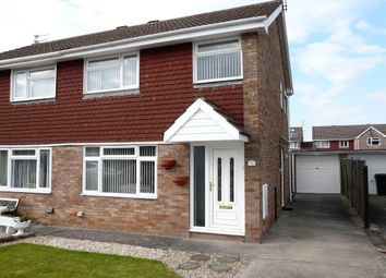 Thumbnail 3 bed semi-detached house for sale in Falcon Crescent, Worle, Weston Super Mare