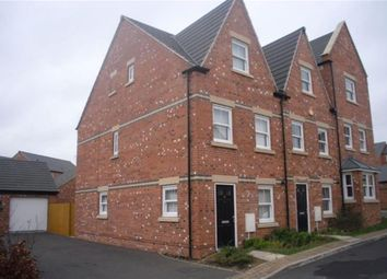 Thumbnail 3 bedroom town house for sale in Kevin Wood Close, Birstall, Leicester