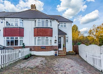 Thumbnail 3 bed semi-detached house for sale in Hillfield Close, Redhill