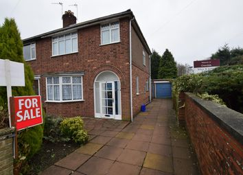 Thumbnail 3 bedroom semi-detached house for sale in Overdale Road, Leicester