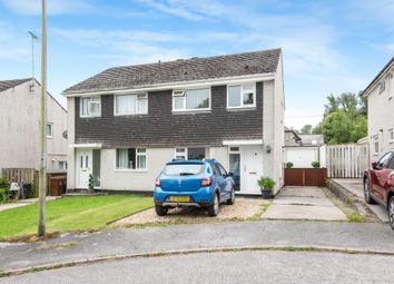Thumbnail 3 bed semi-detached house for sale in Church Park Road, Yealmpton, Plymouth