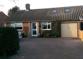 Thumbnail 2 bed bungalow for sale in South Croft, Hethersett, Norwich