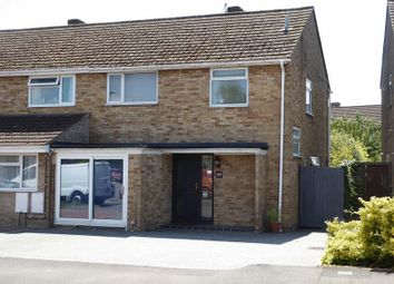 Thumbnail 3 bed semi-detached house for sale in Barry Avenue, Bicester