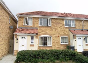 Thumbnail 3 bed end terrace house for sale in Wentworth Crescent, Beggarwood, Basingstoke