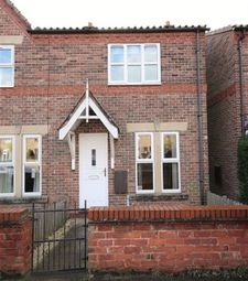 Thumbnail 3 bed terraced house to rent in Kelfield Road, Riccall, York