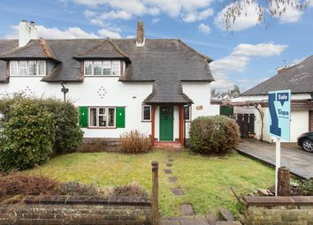 Thumbnail 3 bed semi-detached house for sale in Pine Ridge, Carshalton