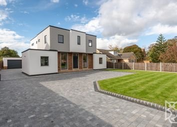 Thumbnail 4 bed detached house for sale in Bromley Road, Lawford, Essex