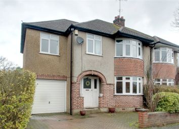 Thumbnail 4 bed semi-detached house for sale in Chobham Road, Ottershaw, Surrey