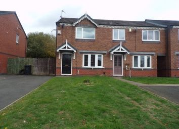 Thumbnail 2 bed end terrace house to rent in Hempole Lane, Tipton