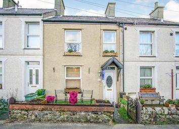Thumbnail 2 bed terraced house for sale in Rhes Beuno, Bontnewydd, Caernarfon