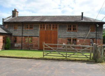 Thumbnail 3 bed barn conversion to rent in Gooseberry Lane, Grinshill, Shrewsbury, Shropshire