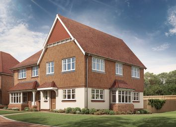 Thumbnail 3 bedroom semi-detached house for sale in Keymer Road, Burgess Hill, West Sussex