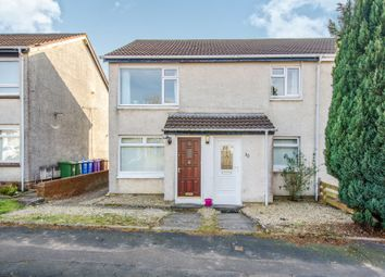 Thumbnail 2 bed flat for sale in Invergarry Place, Thornliebank, Glasgow