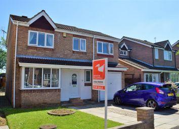 Thumbnail 4 bed detached house for sale in Greenfield Drive, Hibaldstow, Brigg