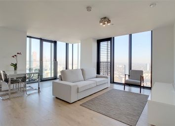 Thumbnail 2 bed flat for sale in Stratosphere, Station Street, London