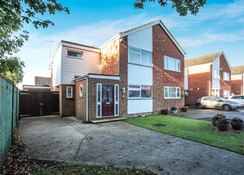 Thumbnail 3 bedroom semi-detached house for sale in Lancing Road, Luton