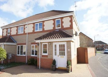 Thumbnail 3 bedroom semi-detached house to rent in Caraway Drive, Bradwell, Great Yarmouth