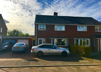 Thumbnail 3 bed semi-detached house to rent in Saunders Close, Watlington, Oxon