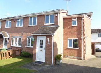 Thumbnail 3 bedroom end terrace house for sale in Longbrooke, Houghton Regis, Dunstable