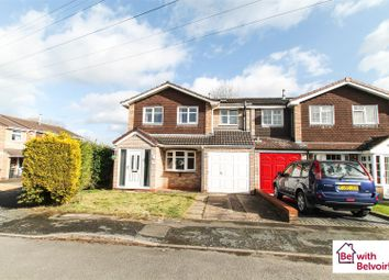 Thumbnail 3 bed semi-detached house for sale in Wodehouse Close, Wombourne, Wolverhampton