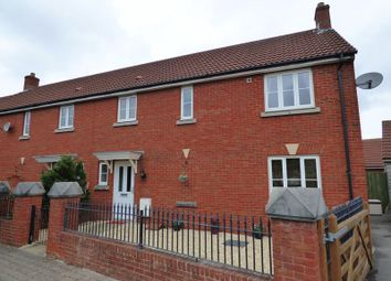 Thumbnail 3 bed end terrace house for sale in Worle Moor Road, Weston Village, Weston-Super-Mare