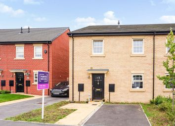 Thumbnail 2 bed town house for sale in Girnhill Lane, Featherstone, Pontefract