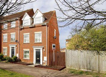 Thumbnail 4 bed town house for sale in Wickstead Avenue, Grange Farm, Milton Keynes