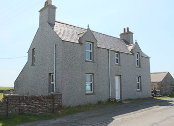 Thumbnail 4 bed detached house for sale in Stronsay, Orkney