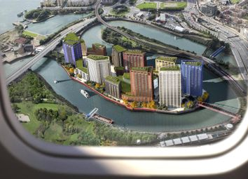 Thumbnail 4 bed flat for sale in Dawsonne House, London City Island, Canning Town, London
