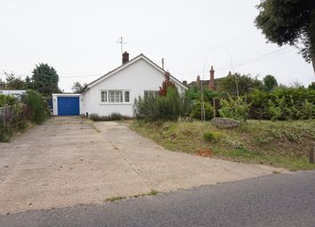 Thumbnail 3 bed detached bungalow for sale in Church Road, Saxmundham