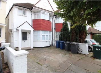Thumbnail 2 bed flat for sale in Clifton Gardens, Temple Fortune, London