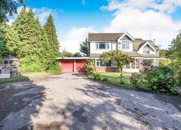 Thumbnail 5 bed detached house for sale in Station Road, Balsall Common, Coventry