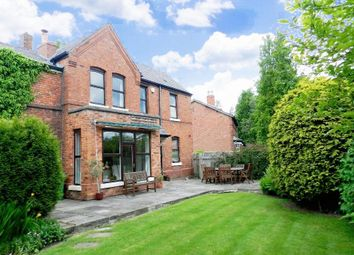 Thumbnail 4 bed semi-detached house for sale in Wigshaw Lane, Culcheth, Warrington