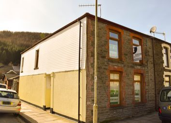 Thumbnail 4 bedroom end terrace house for sale in Miskin Street, Treherbert, Treorchy