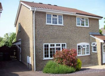 Thumbnail 2 bed semi-detached house for sale in Breaches Gate, Bradley Stoke, Bristol