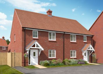 "Thumbnail 3 bed semi-detached house for sale in ""The Fincham"" at Boorley Green, Winchester Road, Botley, Southampton, Botley"