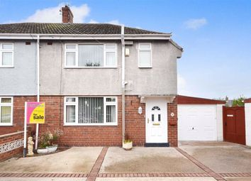 Thumbnail 3 bed semi-detached house for sale in Pasture Avenue, Goole