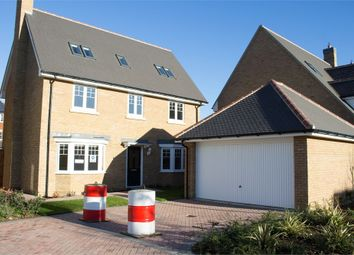 Thumbnail 5 bed detached house for sale in Woodlands Park, Great Dunmow, Essex
