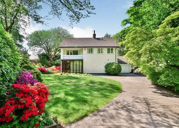 Thumbnail 4 bed detached house for sale in Kings Road, Wilmslow