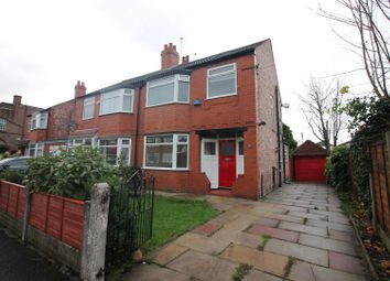 Thumbnail 3 bed semi-detached house to rent in Dorclyn Avenue, Urmston, Manchester