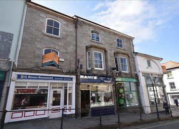 Thumbnail Retail premises for sale in 38 Market Jew Street, Penzance, Cornwall